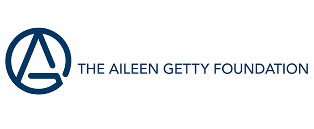 The Aileen Getty Foundation logo